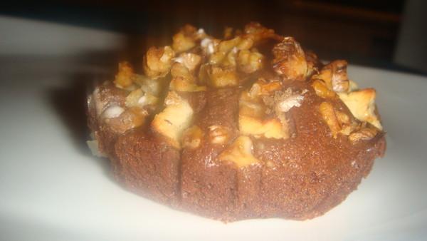fondants chocolat-pommes-noix